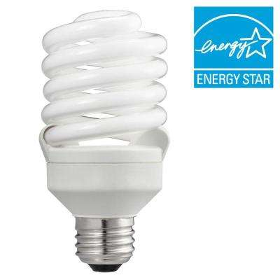 100W Equivalent Soft White T2 Spiral CFL Light Bulb (24-Pack)