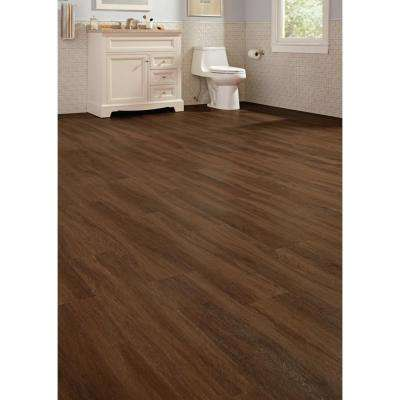 Shadow Hickory 7.1 in. W x 47.6 in. L Luxury Vinyl Plank Flooring (18.73 sq. ft. / case)