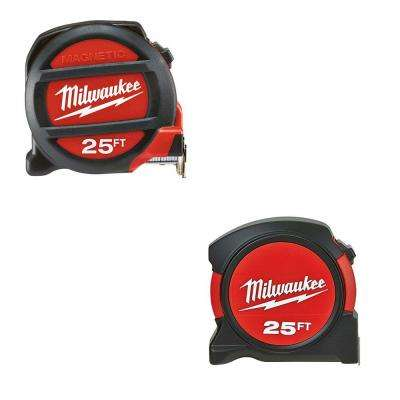 25 ft. Magnetic Tape Measure with Free 25 ft. General Contractor Tape Measure