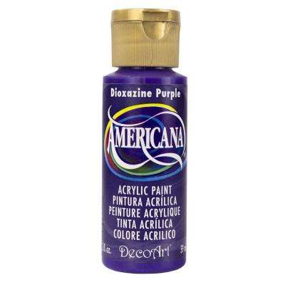 Americana 2 oz. Dioxazine Purple Acrylic Paint