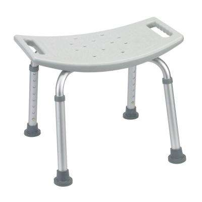 Grey Bathroom Safety Shower Tub Bench Chair