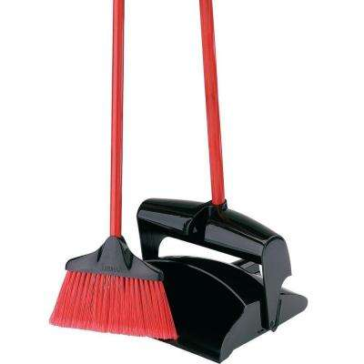 Libman Lobby Broom and Dust Pan (Closed Lid)