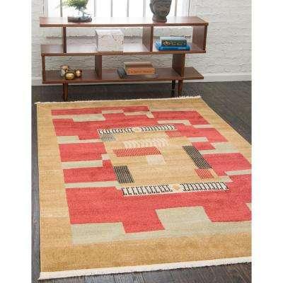 Fars Jefferson Rust Red 9' 0 x 12' 0 Area Rug
