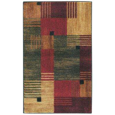 Mohawk Home Alliance Multi 1 ft. 8 inch x 2 ft. 10 inch Accent Rug