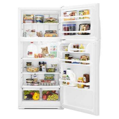 14.3 cu. ft. Top Freezer Refrigerator in White
