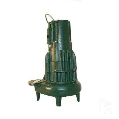 Waste-Mate 2 in. Discharge E284 1 HP Submersible Sewage or Dewatering Non-Automatic Pump-DISCONTINUED