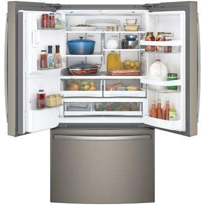 27.8 cu. ft. French Door Refrigerator in Slate, Fingerprint Resistant and ENERGY STAR