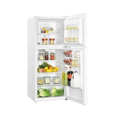 10.1 cu. ft. Top Freezer Refrigerator in White