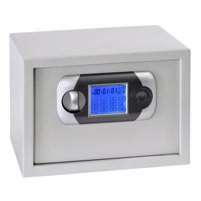 Buddy 0.78 cu. ft. Steel Touch Screen Hotel Safe with Electronic Lock, Platinum