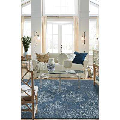 Paxton Blue 10 ft. x 14 ft. Indoor Area Rug