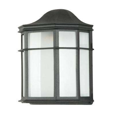 Elby 1 Light Black Sconce