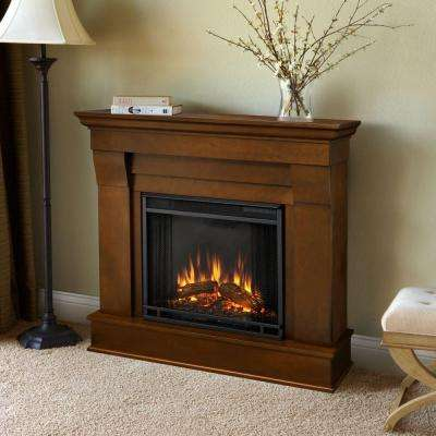 Chateau 41 in. Electric Fireplace in Espresso