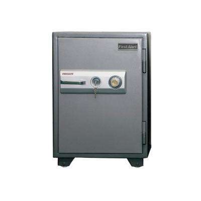 2.77 cu. ft. Capacity and Solid Steel Construction Fire Resistant Combination Safe