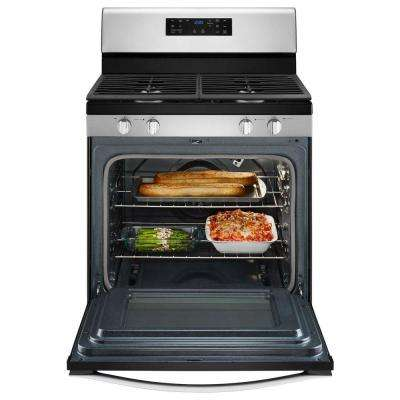 5.0 cu. ft. Gas Range Convection in Stainless Steel