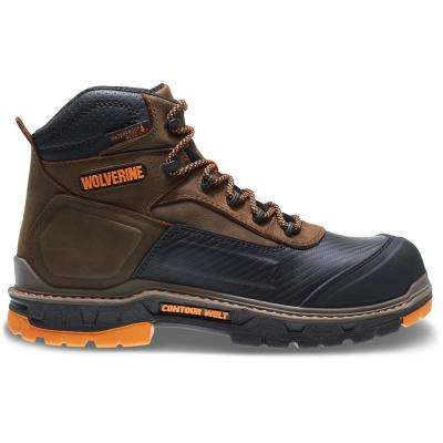 Men's Overpass Waterproof 6'' Work Boots - Soft Toe