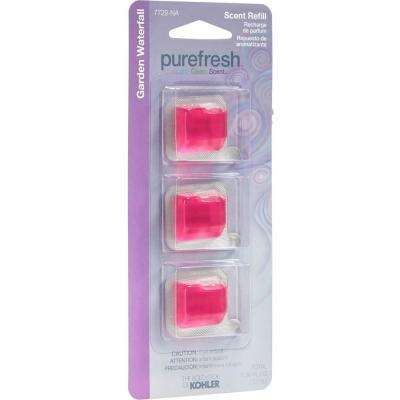 Garden Waterfall Refill Scent Pack for Purefresh Toilet Seat