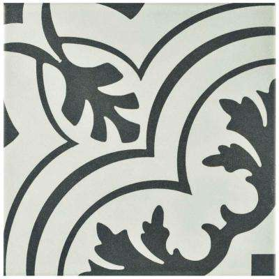 Twenties Vintage 7-3/4 in. x 7-3/4 in. Ceramic Floor and Wall Tile (11 sq. ft. / case)