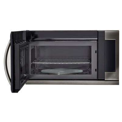 black stainless steel microwaves appliances the home depot rh homedepot com