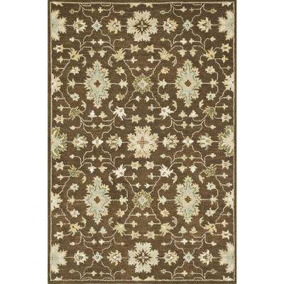 Fairfield Lifestyle Collection Brown 5 ft. x 7 ft. 6 in. Area Rug