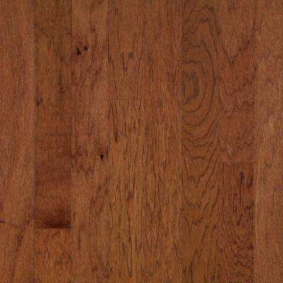 Brandy Wine Red Hickory 1/4 in. Thick x 2 in. Wide x 78 in. Long T-Molding