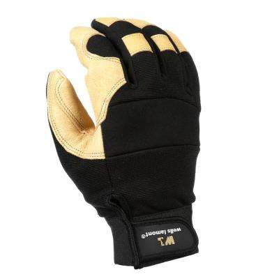 Large Grain Leather Ultra Comfort Work Gloves