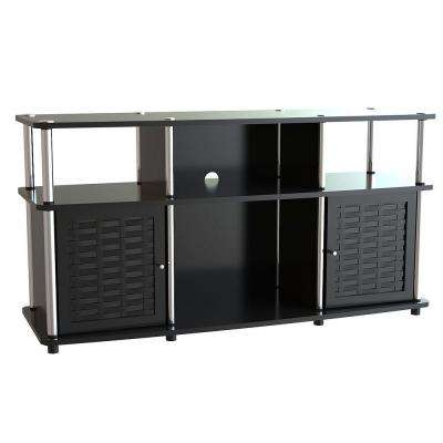 Designs2Go Chelsea TV Stand in Black