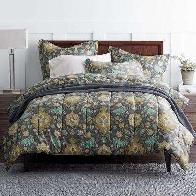 Tabriz 400-Thread Count Sateen Comforter