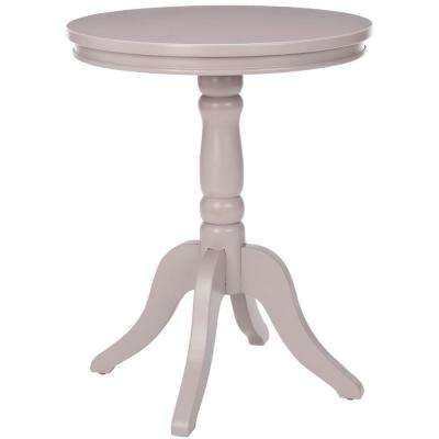 Vivienne Side Table in Grey