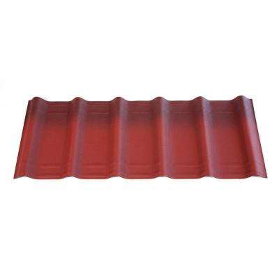 42 in. x 16 in. x 1.6 in. Classic Red Asphalt Shingles (10-Piece)