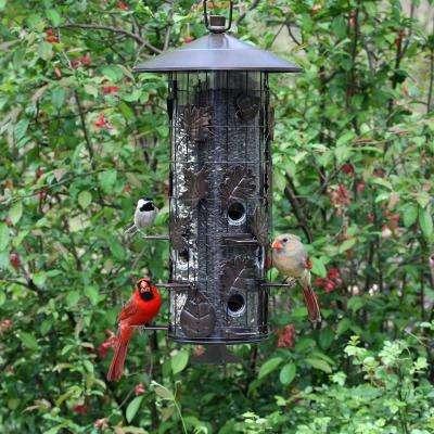 Squirrel-Be-Gone Triple-Tube Squirrel Proof Bird Feeder - 8 lb. Capacity