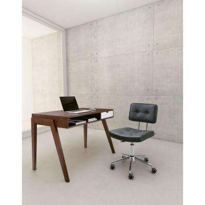 Series Leatherette Office Chair in White