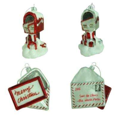 Winter Tidings Letter and Mailbox Assortment Set (12-Count)
