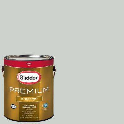 1-gal. #HDGCN10 Barely Jade Flat Latex Exterior Paint