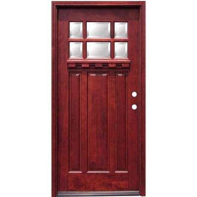 Mahogany - Front Doors - Exterior Doors - The Home Depot