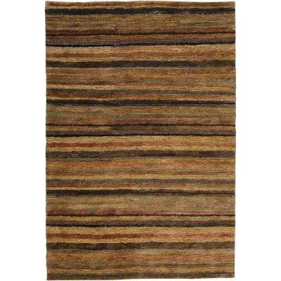 Anahola Tan 8 ft. x 11 ft. Area Rug