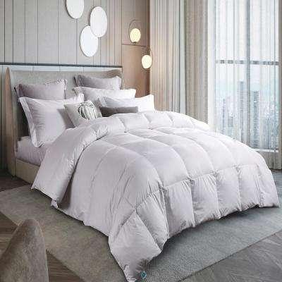 300 Thread Count Year Round Warmth White Down Comforter