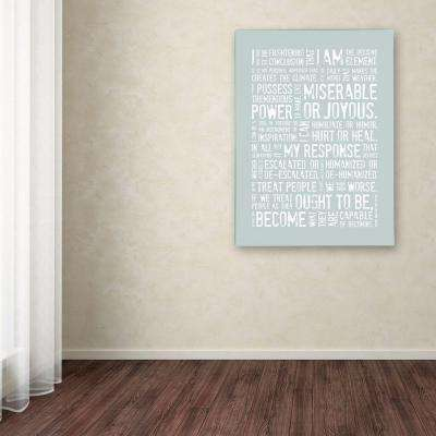 32 in. x 26 in. Decisive Elements I Canvas Art