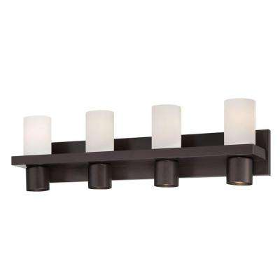 Pillar Collection 8-Light Oil Rubbed Bronze Bath Bar Light
