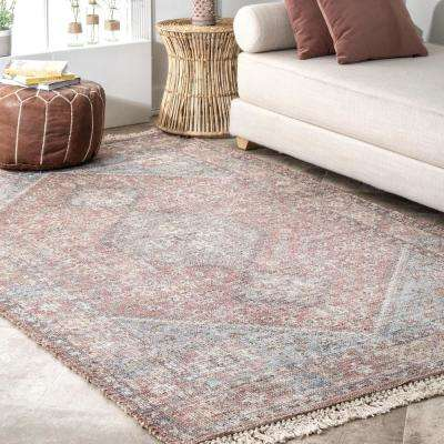 Cathleen Vintage Persian Multi 5 ft. x 8 ft. Area Rug
