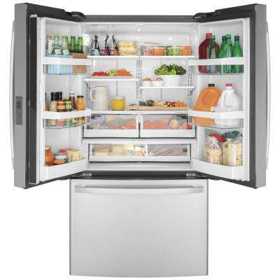 23.1 cu. ft. French Door Refrigerator in Fingerprint Resistant Stainless Steel, Counter Depth and ENERGY STAR