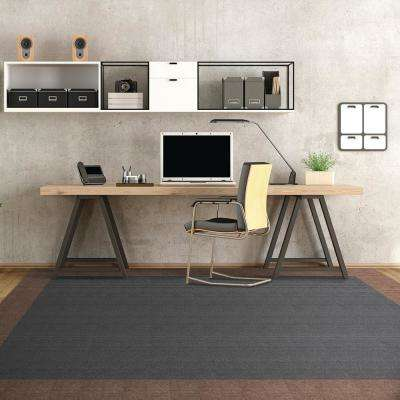 Peel and Stick First Impressions High Low Rib Shadow 24 in. x 24 in. Commercial Carpet Tile (15 Tiles/Case)