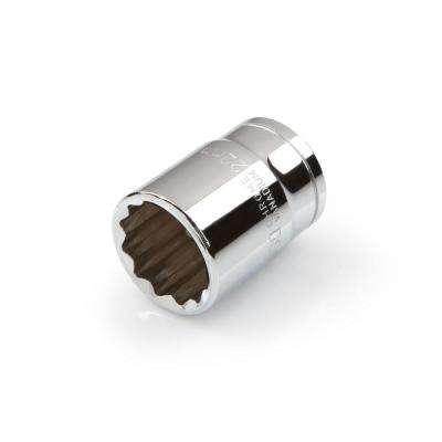 1/2 in. Drive 22 mm 12-Point Shallow Socket