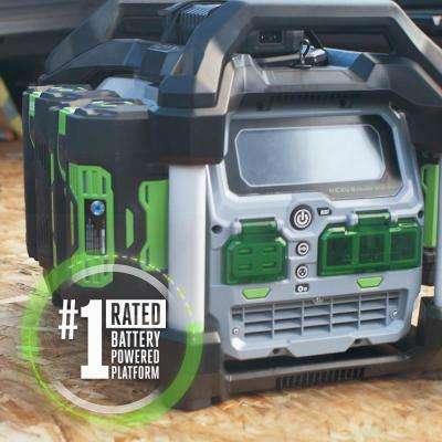 56V 3000-Watt Nexus Power Station Portable Generator, Two 7.5 Ah Batteries Included