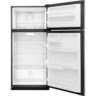 15 cu. ft. Top Freezer Refrigerator in Stainless Steel, ENERGY STAR