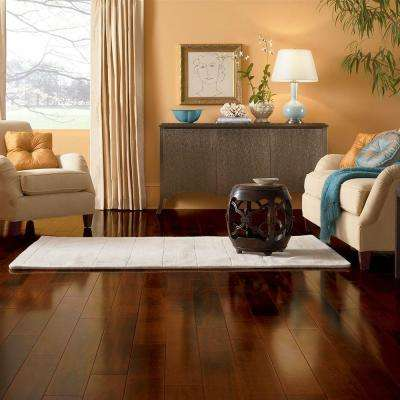 Cherry Brushed Woodside 3/8 in. Thick x 5 in. Wide x Varying Length Engineered Hardwood Flooring (22 sq. ft. / case)