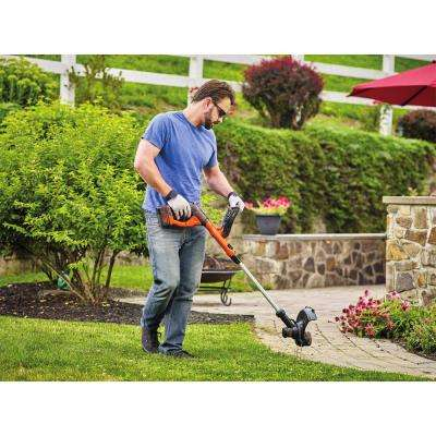 40V MAX Lithium-Ion Electric Cordless String Trimmer with (1) 1.5Ah Battery & Charger