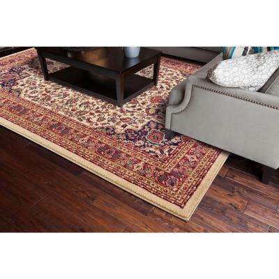 Jewel Collection Heriz Ivory Rectangle Indoor 9 ft. 3 in. x 12 ft. 6 in. Area Rug