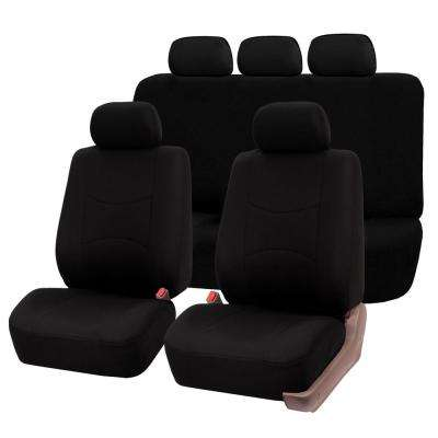 Flat Cloth 47 in. x 23 in. x 1 in. Multi-functional Full Set Seat Covers