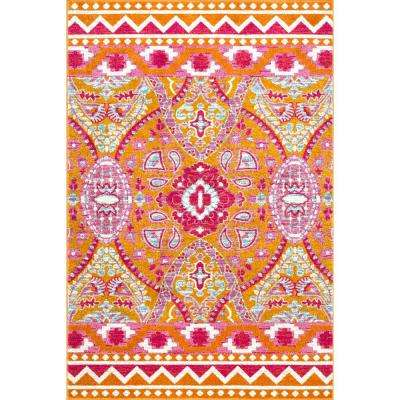 Tiera Suzani Multi 4 ft. x 6 ft. Area Rug