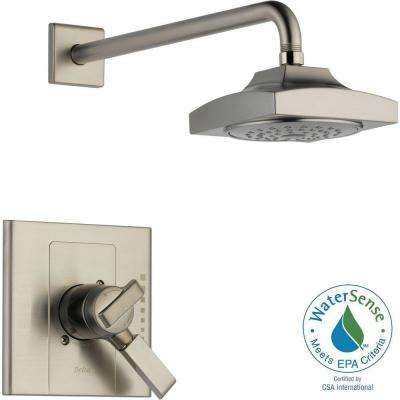 Arzo 1-Handle Shower Only Faucet Trim Kit in Stainless (Valve Not Included)
